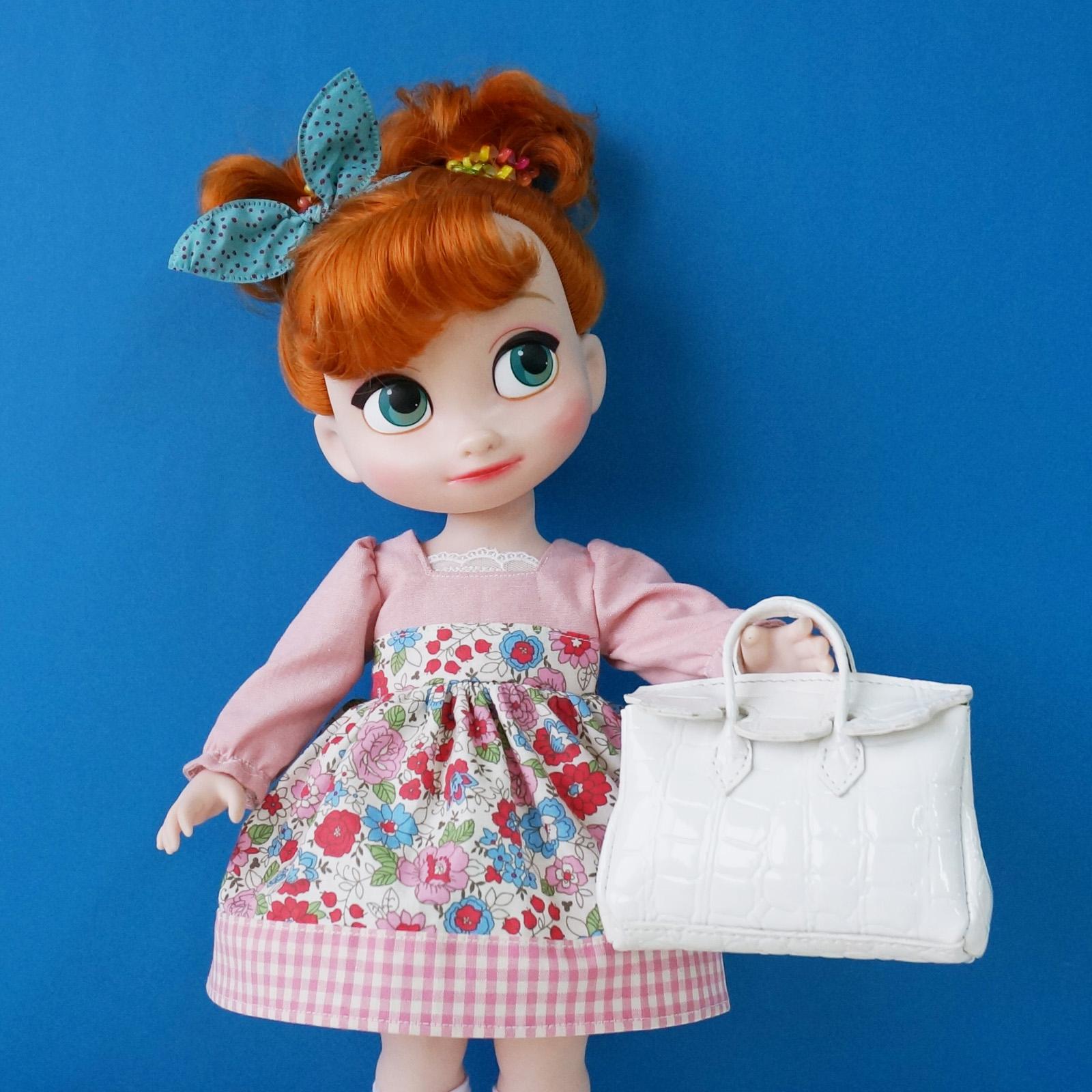 Disney Princess Doll Clothes: Disney Baby Doll Totebag Handbag Clothes Clothing Animator