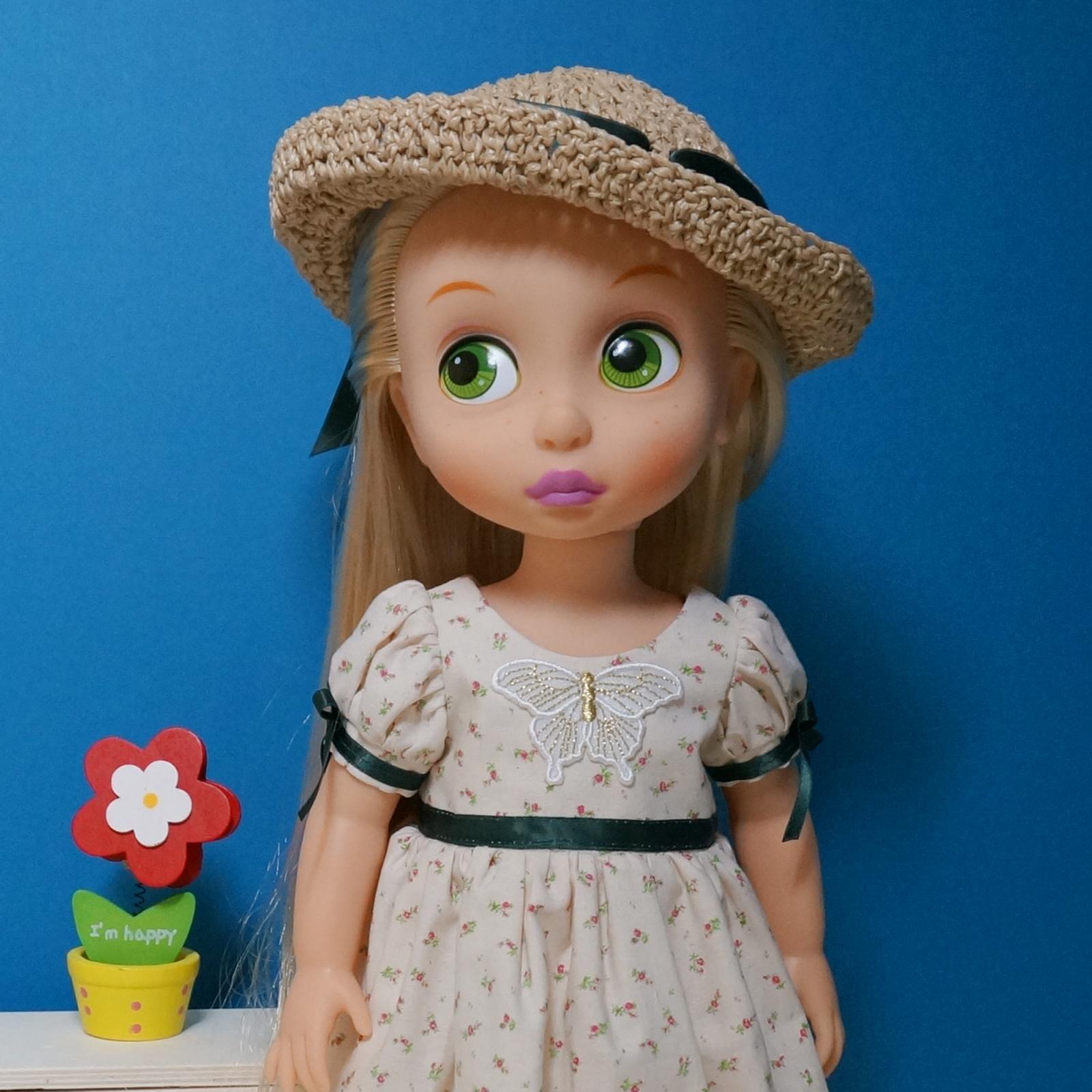Disney Princess Doll Clothes: Disney Baby Doll Hat Clothes Clothing Scarett Animator's