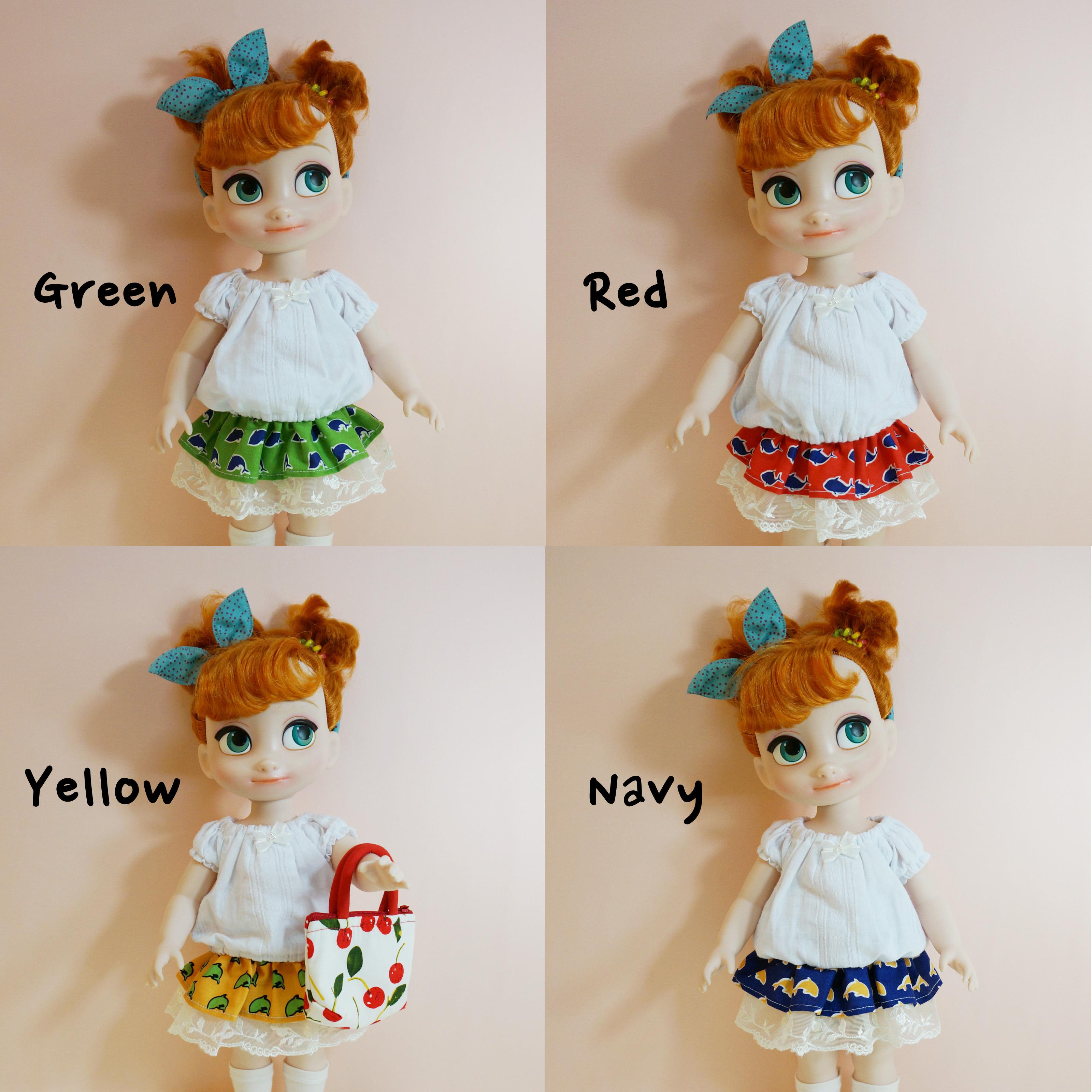 Disney Princess Doll Clothes: Disney Baby Doll Clothes Dolphine Set Clothing Animator's