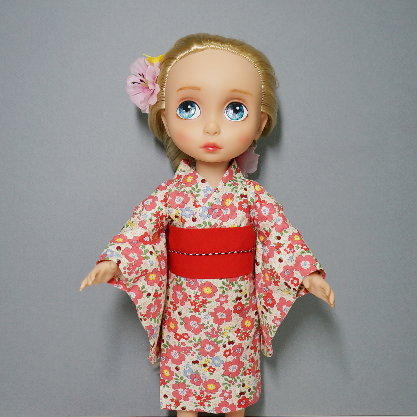 Disney Princess Toddler Doll With Dress: Disney Baby Doll Clothes Yukata Flower Dress Clothing
