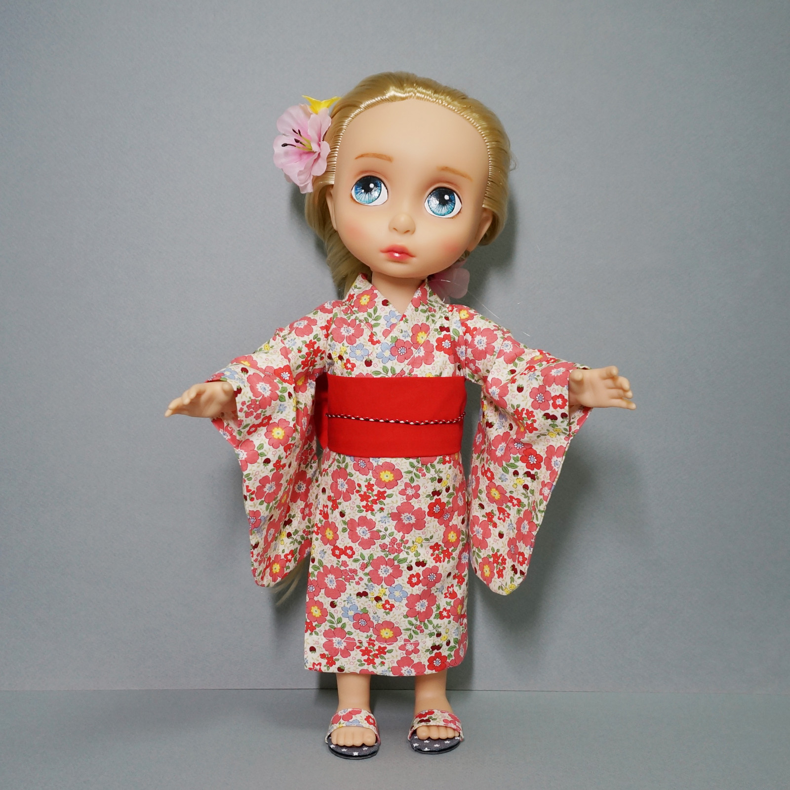 Disney Princess Doll Clothes: Disney Baby Doll Clothes Yukata Flower Dress Clothing