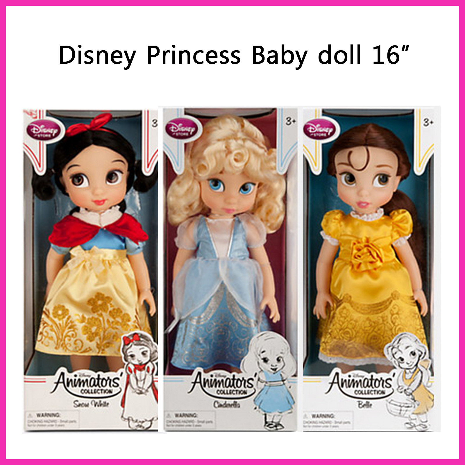 Disney Princess Toddler Doll With Dress: Disney Baby Doll Clothes A Line Dress Clothing Animator's