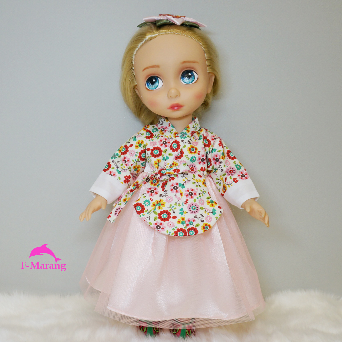 Disney Baby doll clothes Korean traditional dress Animator ...