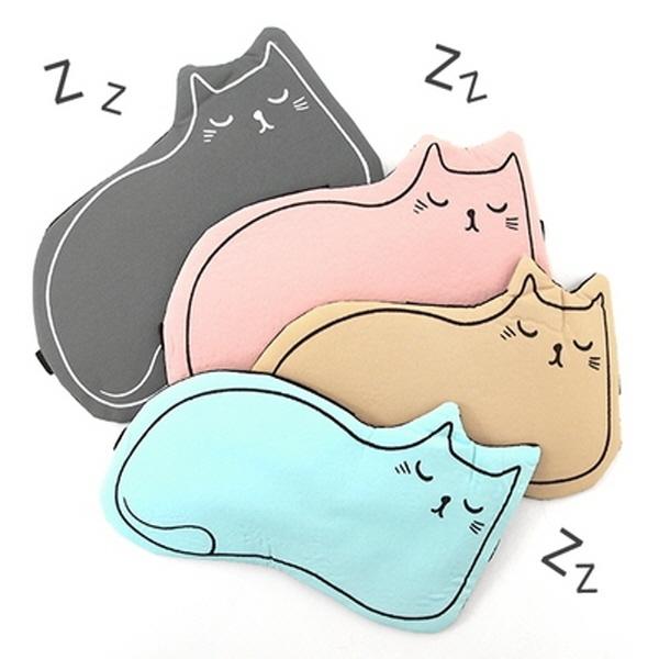 [현재분류명],고양이 냉온 안대,홈인테리어,패브릭,패브릭소품,수면안대