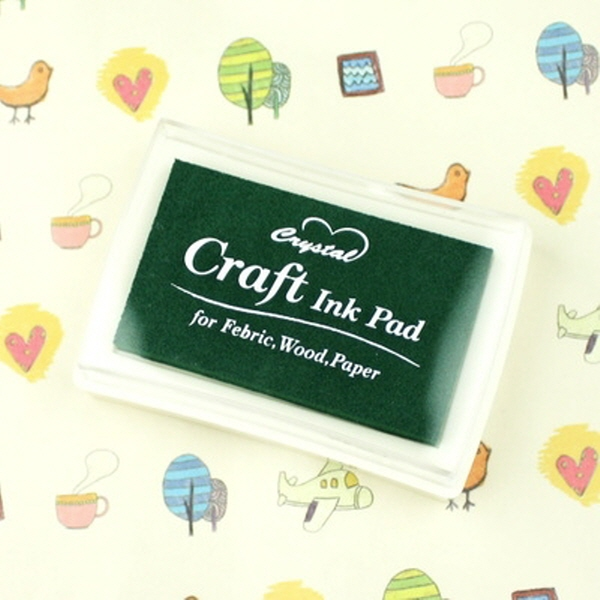 180707AJB-13198 crystal Craft 잉크 패드(Green)