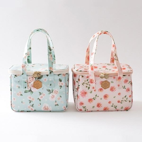 Floral Lunch Bag여행/캠핑/피크닉용품/가방/보온/보냉가방