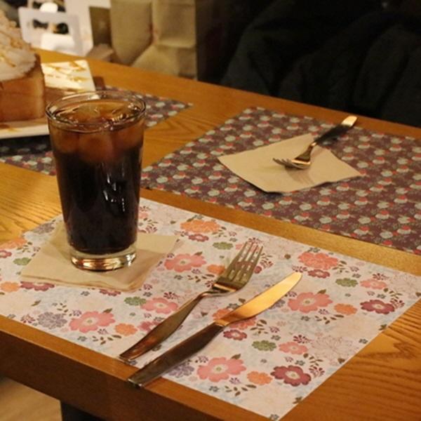 [현재분류명],180707AJB-14491 Table paper mats-ver1,키친,리빙,주방패브릭,식탁매트,식탁매트