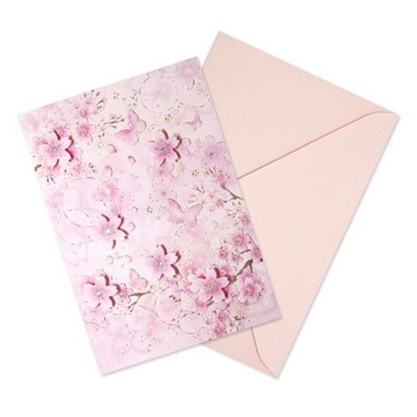[현재분류명],180822AJB-17083 벚꽃카드 YD-23,디자인문구,편지,카드,카드,일러스트카드