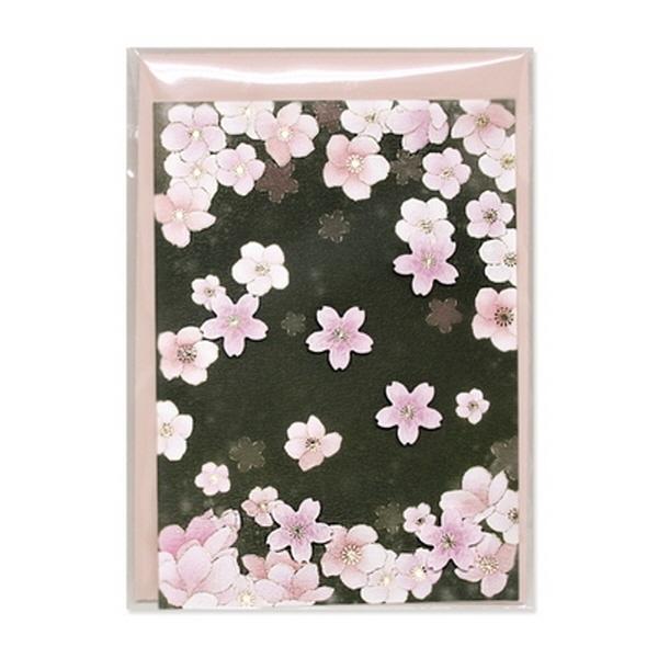 [현재분류명],180822AJB-17091 벚꽃카드 JD-15,디자인문구,편지,카드,카드,일러스트카드
