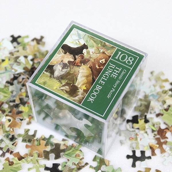 [현재분류명],180822AJB-17134 인디고 미니 퍼즐 108피스 - 정글북,취미,키덜트,퍼즐,직소퍼즐,캐릭터직소퍼즐