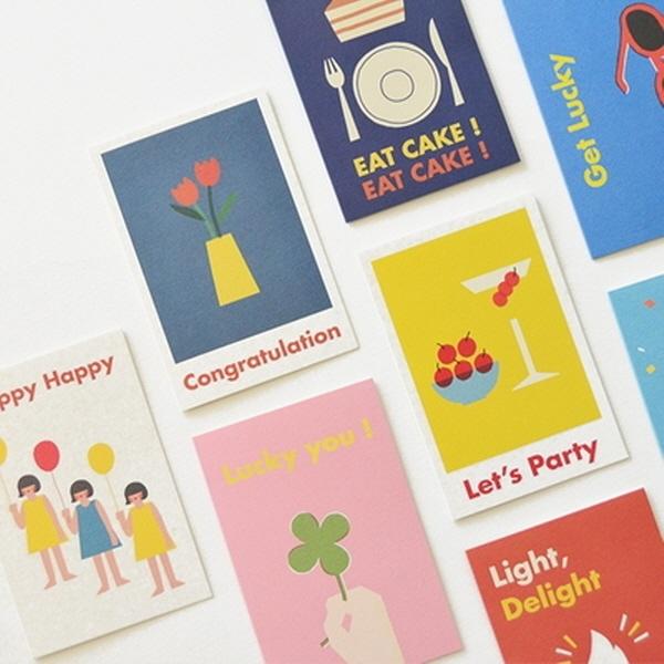 [현재분류명],180822AJB-17216 Jam Birthday Card,디자인문구,편지,카드,카드,생일카드
