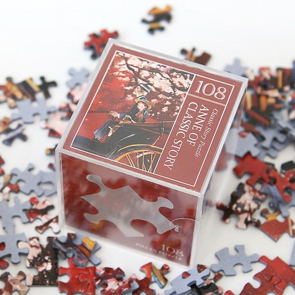 인디고 미니 퍼즐 108PCS 앤 레드