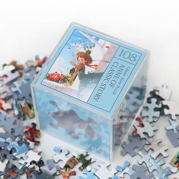 인디고 미니 퍼즐 108PCS 앤 블루