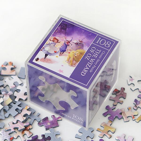 인디고 미니 퍼즐 108PCS 오즈 퍼플