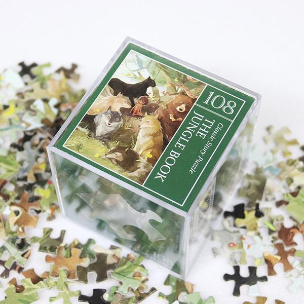 인디고 미니 퍼즐 108PCS 정글북