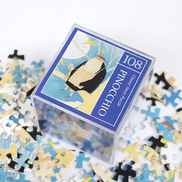 인디고 미니 퍼즐 108PCS 피노키오