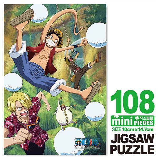 원피스 구슬의 시련 미니큐브 퍼즐 108PCS