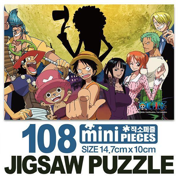 원피스 스릴러바크 미니큐브 퍼즐 108CS