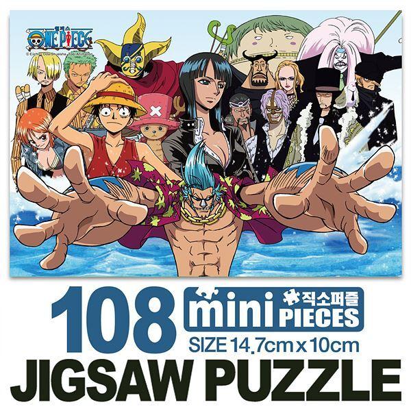 원피스 씨피나인 미니큐브 퍼즐 108CS