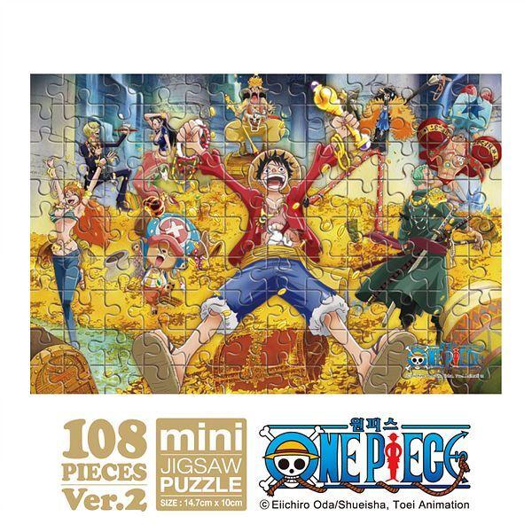 원피스 보물더미 미니퍼즐 108PCS