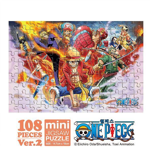 원피스 각자의 능력 미니퍼즐 108PCS