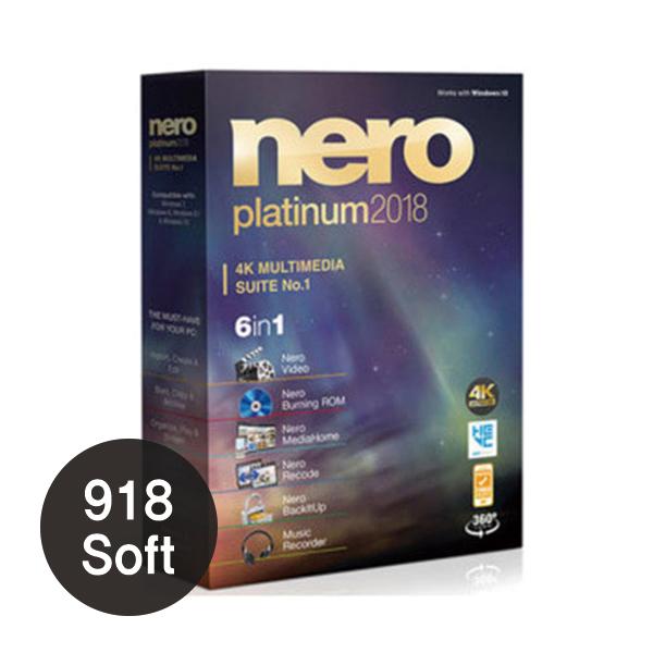 Nero 2018 Platinum (네로, 내로, 메일발송)