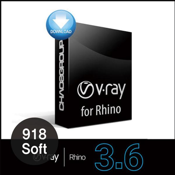 브이레이라이노 V-Ray 3.6 for Rhino 동글옵션