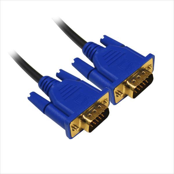 세미 D-SUB RGB 모니터 연결 케이블 5M 노트북 모니터