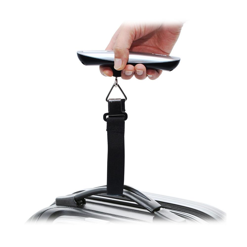 휴대용 캐리어 저울 줄자 측정 가능 최대무게50kg측정