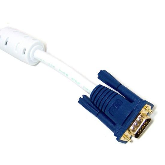 RGB 모니터 컨넥터 금도금 고해상도 고급형 케이블 2M
