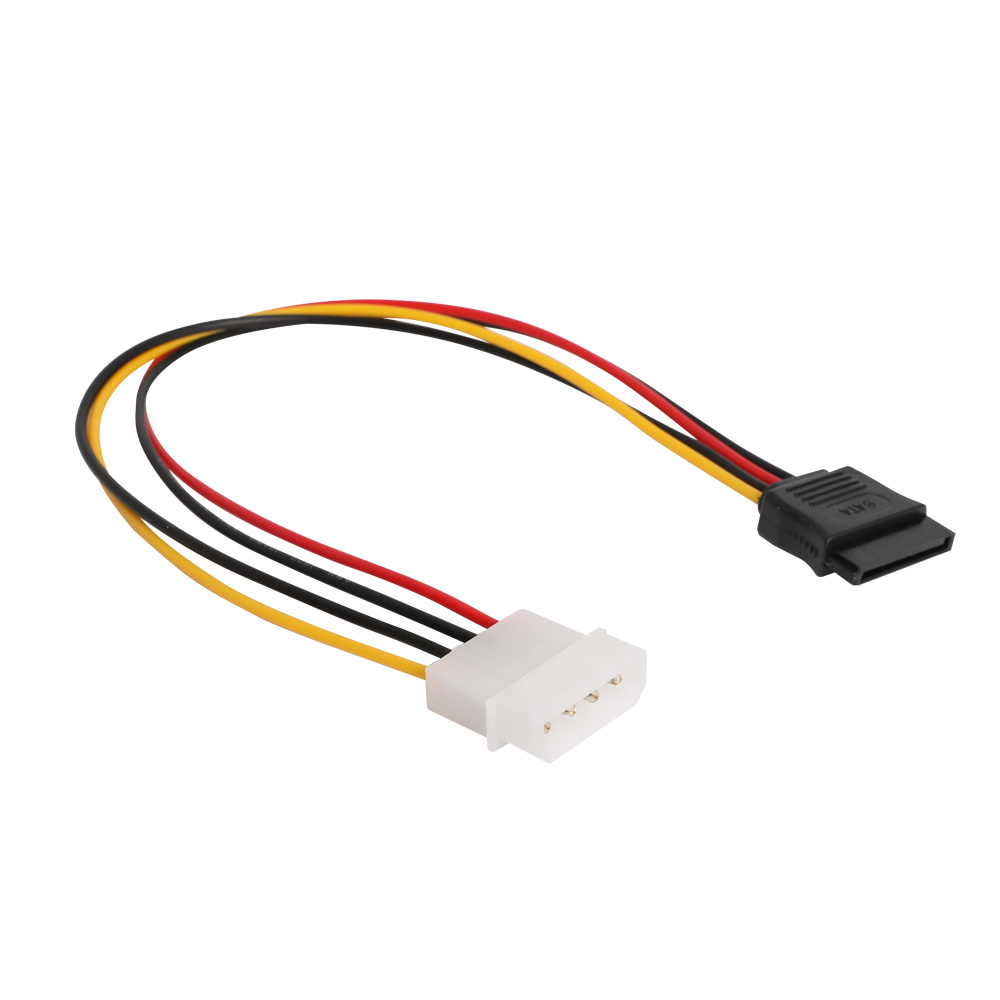 IDE 4핀 SATA 15핀 전원케이블 연결케이블 하드디스크