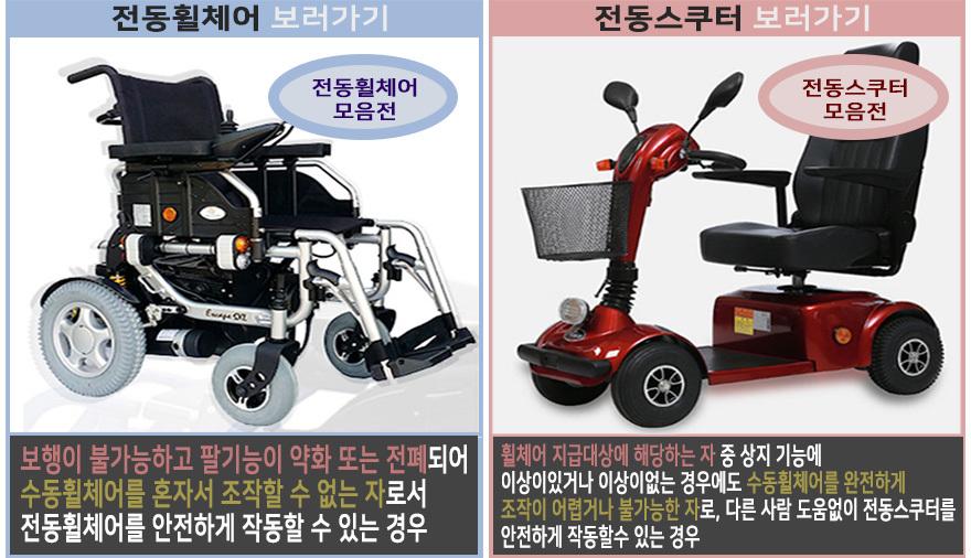 전동휠체어/전동스쿠터 기획전