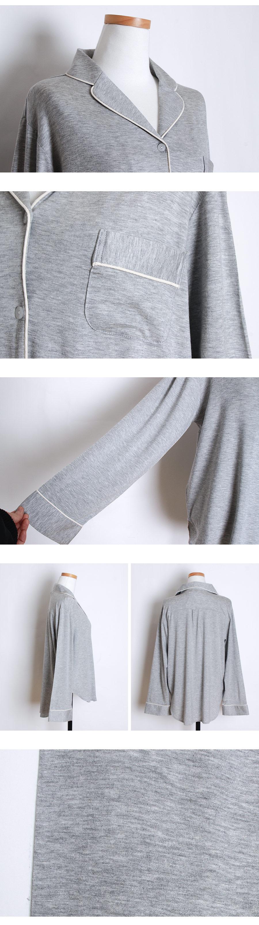 플레인 모달 투피스 여성잠옷 W419 - 쿠비카, 98,000원, 잠옷, 여성파자마
