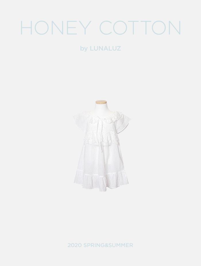 아동 하니코튼 원피스(반소매) 20-04571