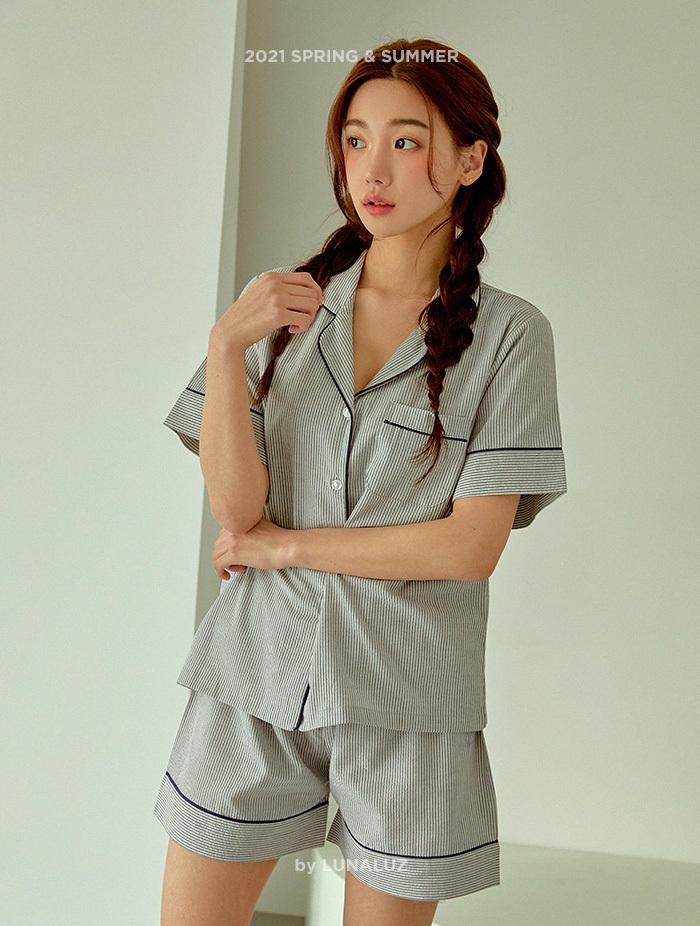 여성 비스킷 상하(2C반소매카라넥) 21-01432