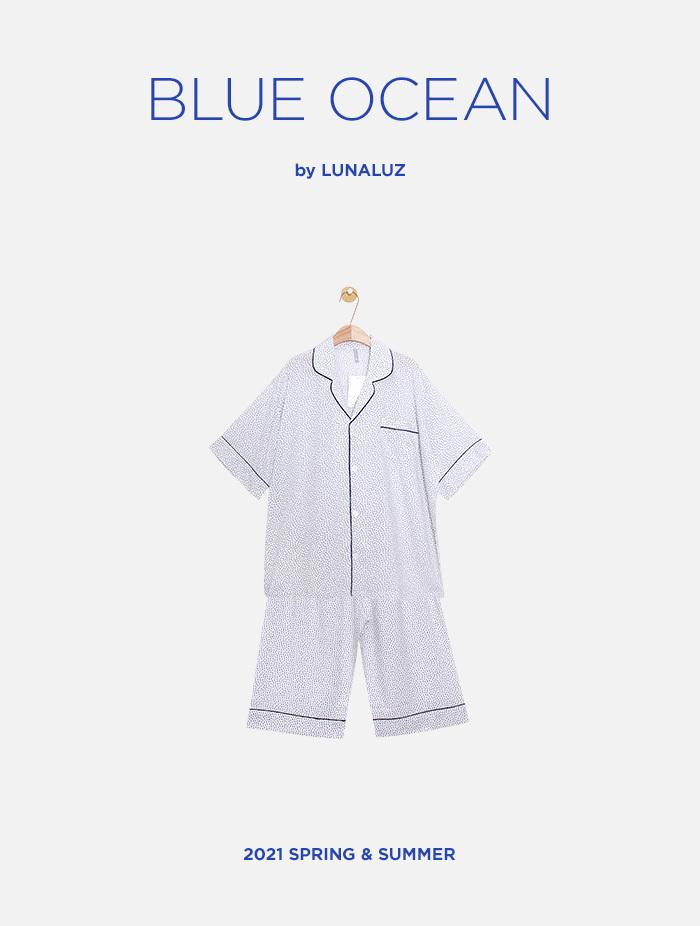 남성 블루오션 레이온 상하(반소매카라넥) 21-05911