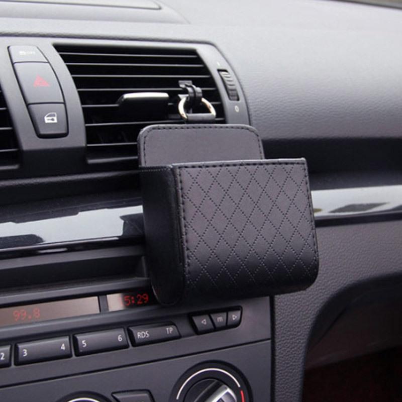 차량용 스마트폰 포켓 미니 수납포켓 3개