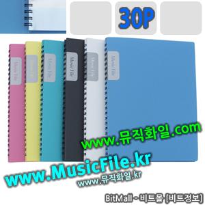 뮤직화일30 (Music File 30p/A4) - 8809132070552