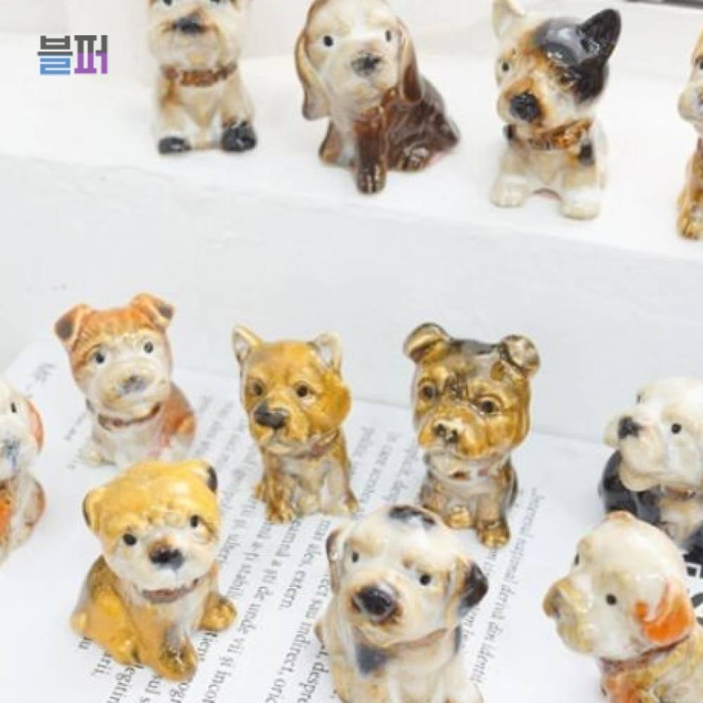 인테리어소품 강아지소품 미니어처소품 12P