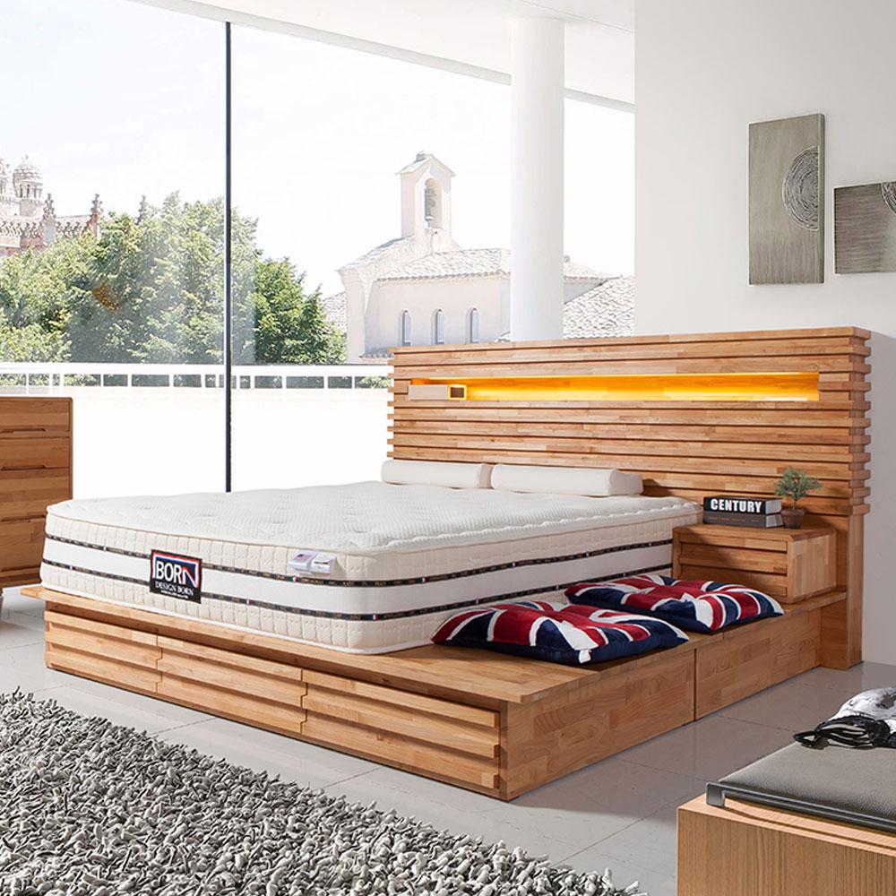 키모스 엘더원목 침대