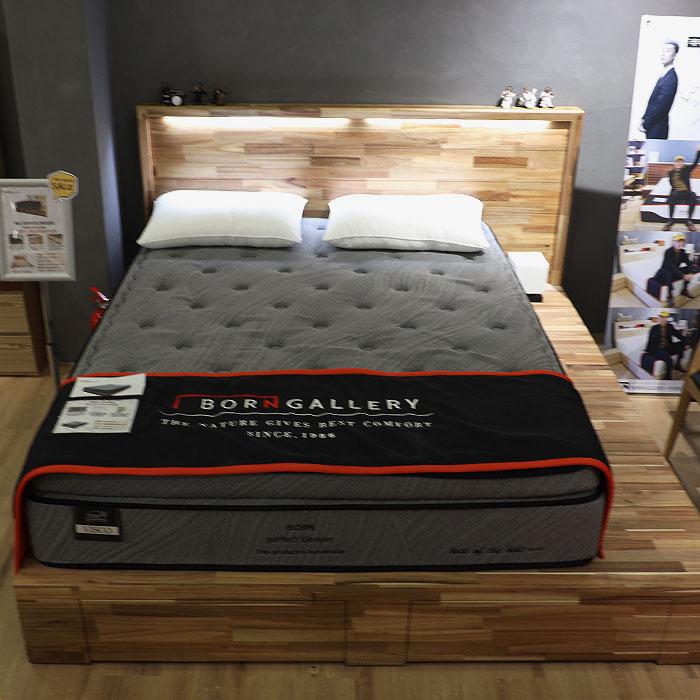 베니 아카시아 원목 침대