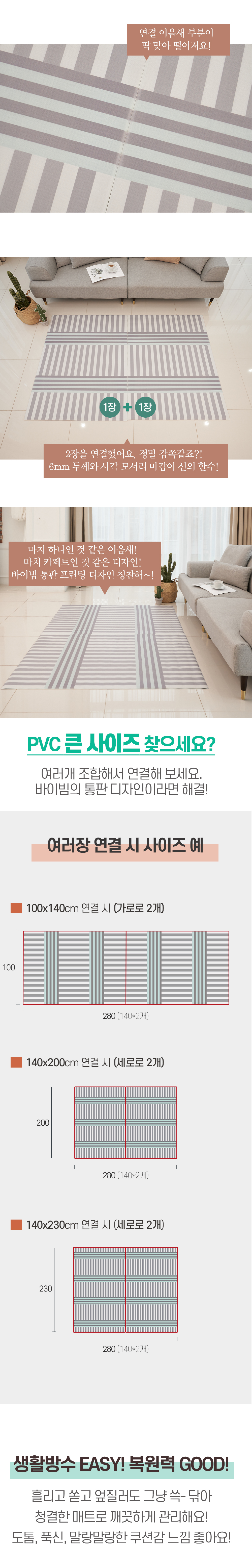 about buybeam PVC mat mare