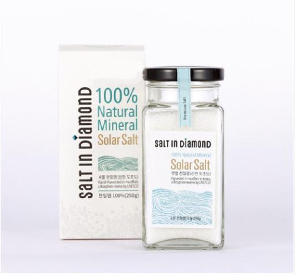 DQSI 솔트 인 다이아몬드 고운천일염 250g 1개