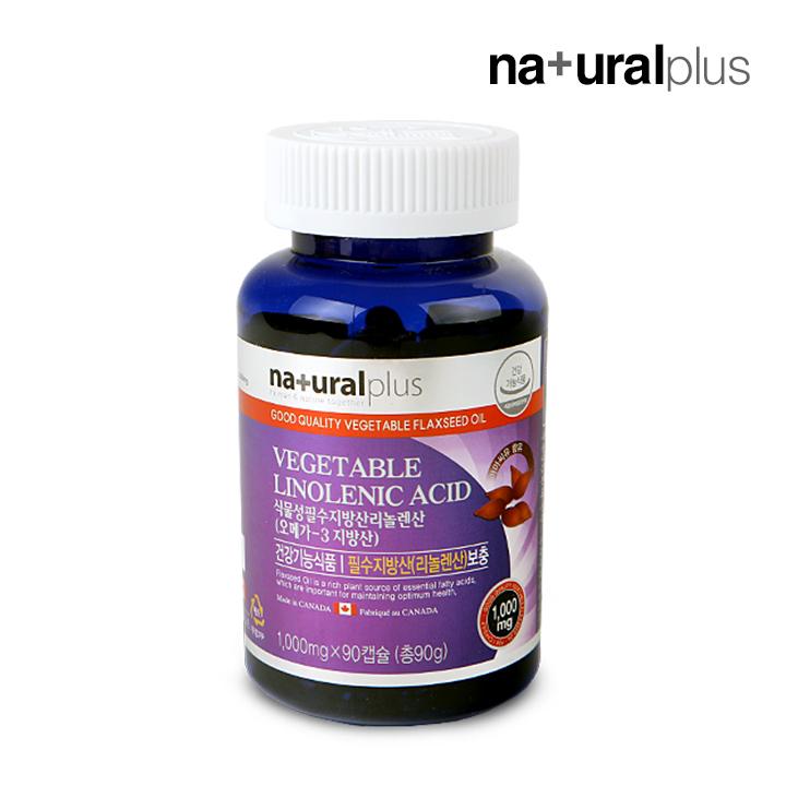 Wm 내츄럴플러스 식물성 리놀렌산(1000mg*90캡슐)