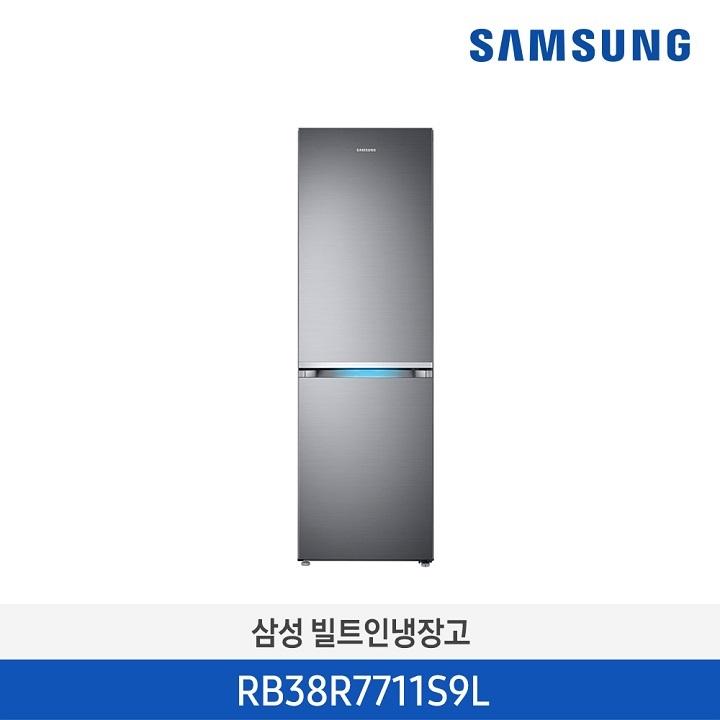 Wm 삼성 냉장고/RB38R7711S9L (389리터)