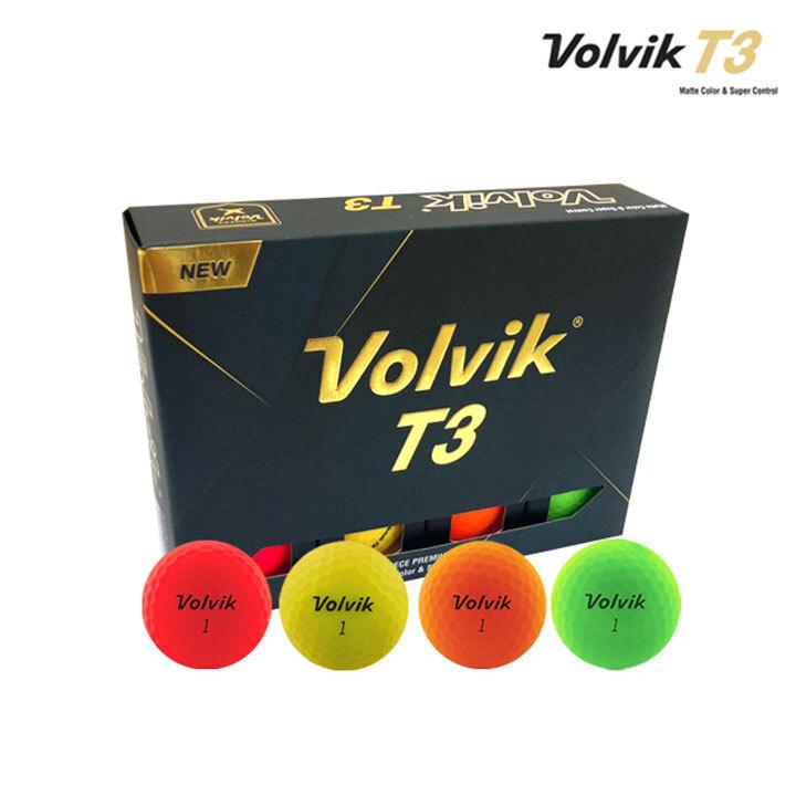 Wm 볼빅 T3 컬러 12구 (컬러12구)