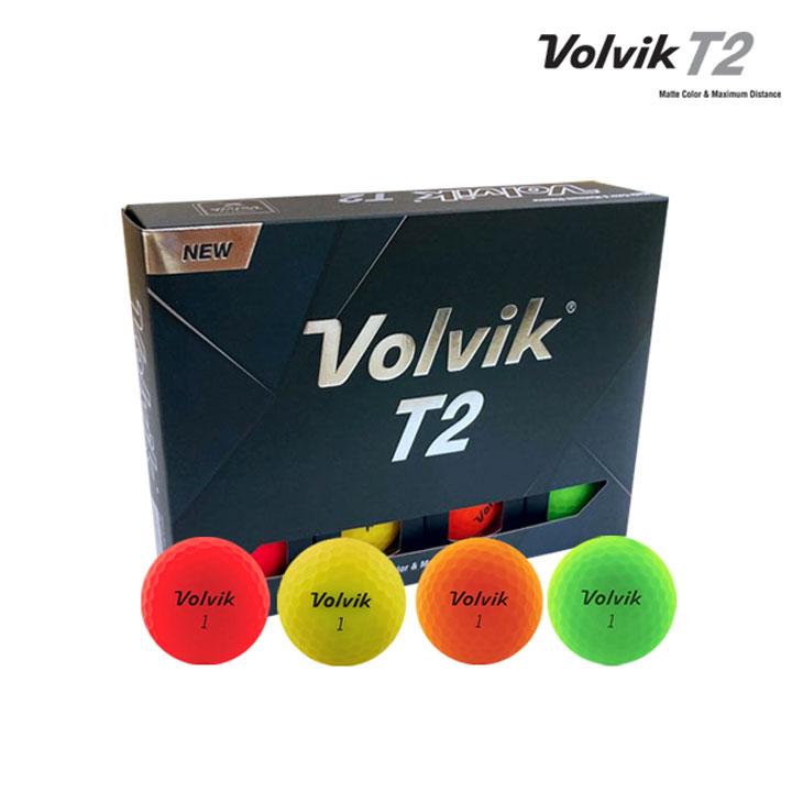Wm 볼빅 T2 컬러 12구 (컬러12구)