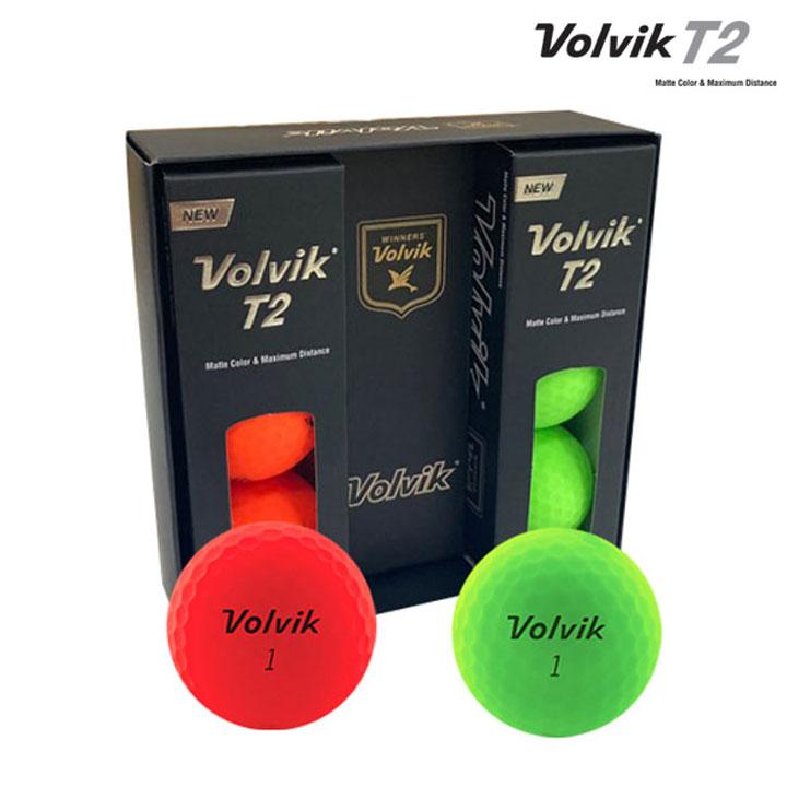 Wm 볼빅 T2 컬러 6구×3박스 (컬러6구×3박스)