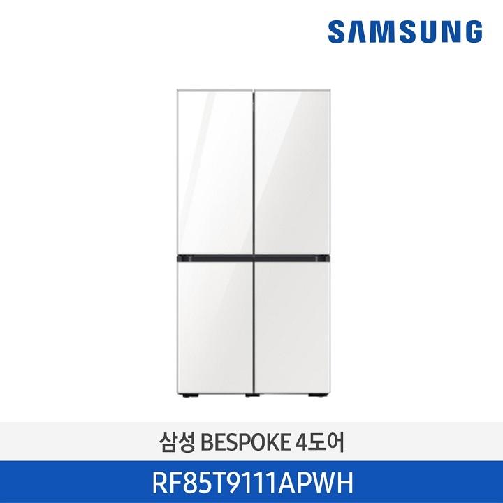 Wm 삼성 BESPOKE 냉장고/RF85T9111APWH (871리터)