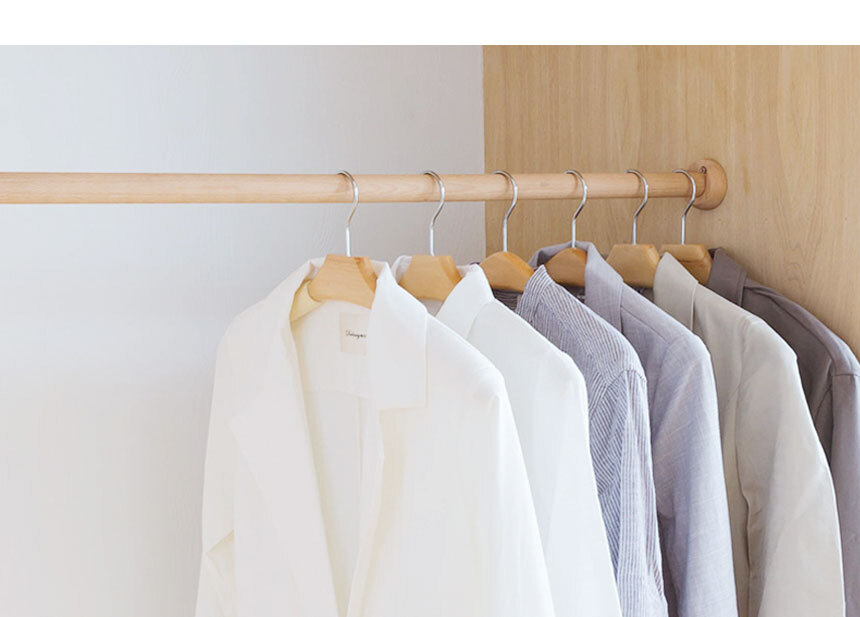 미끄럼방지 옷걸이 - 시나몬샵, 3,890원, 행거/드레스룸/옷걸이, 옷걸이/원목